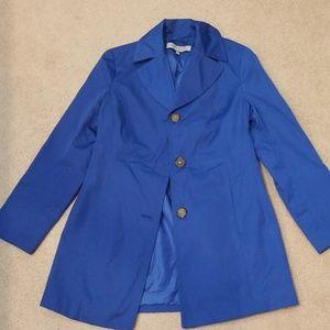 Anna Klein small bright blue jacket